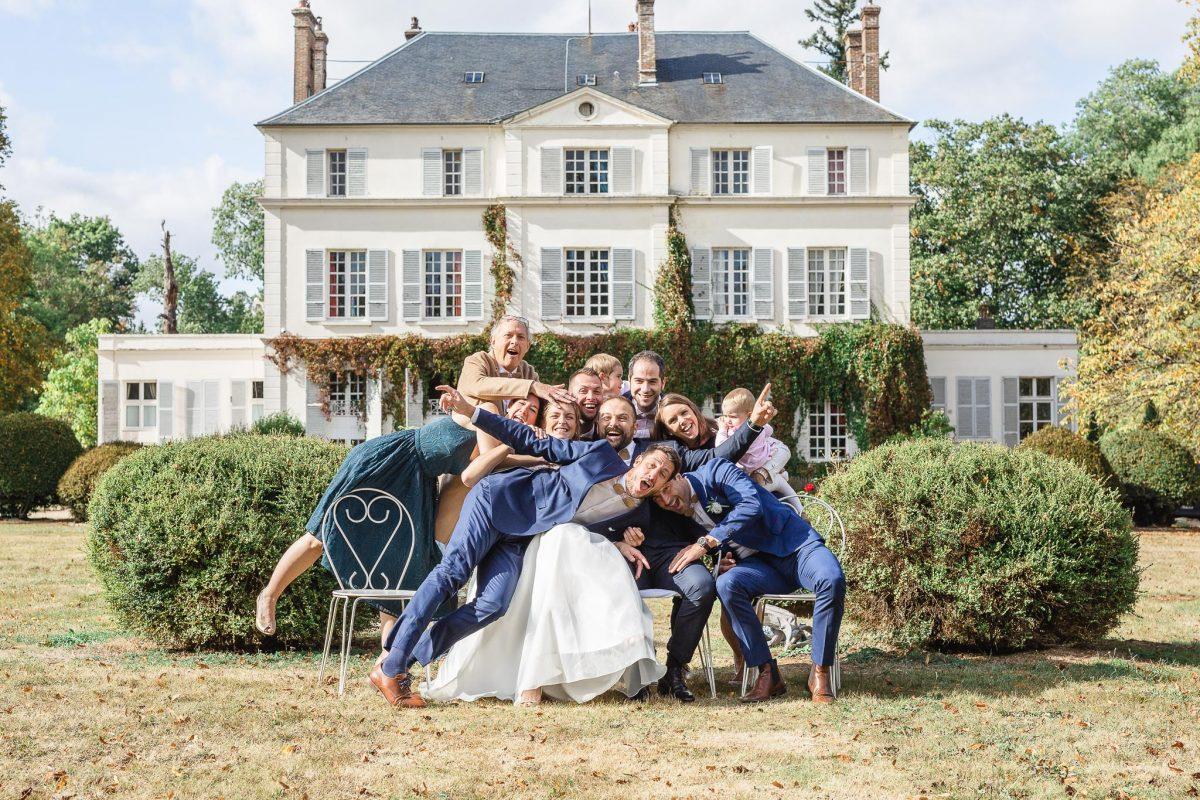 photographie mariage château du Bois de la Lune évreux normandie