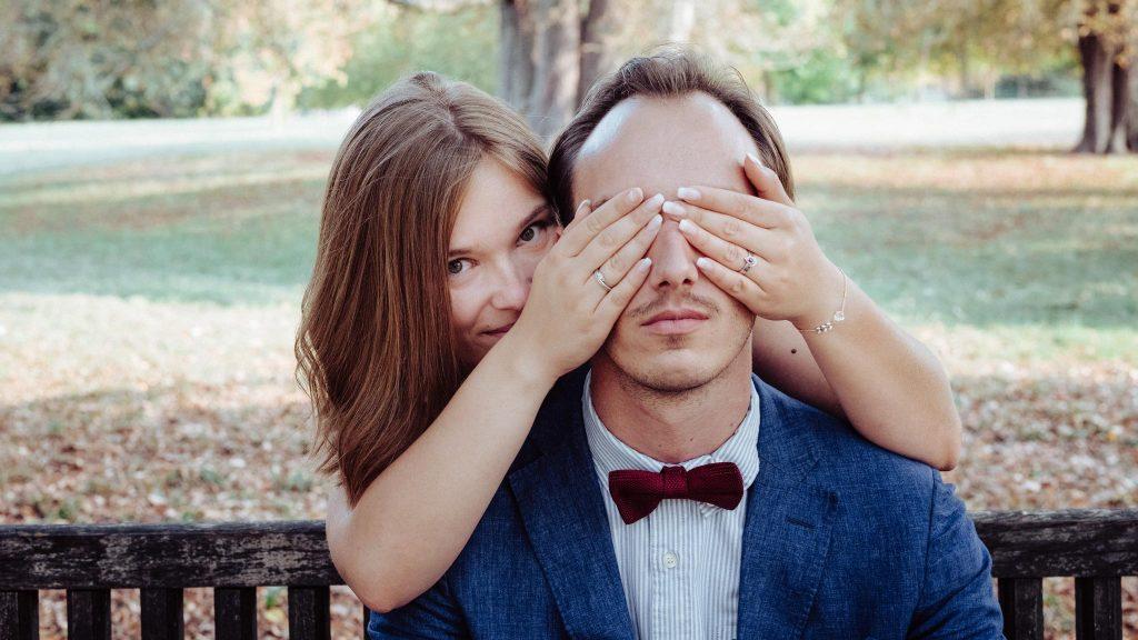 photographe mariage séance engagement fiançailles portrait versailles domaine trianon