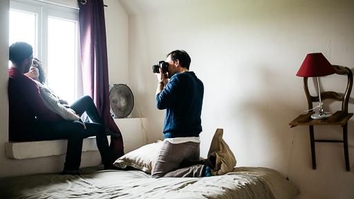 photographe mariage paris autoportrait
