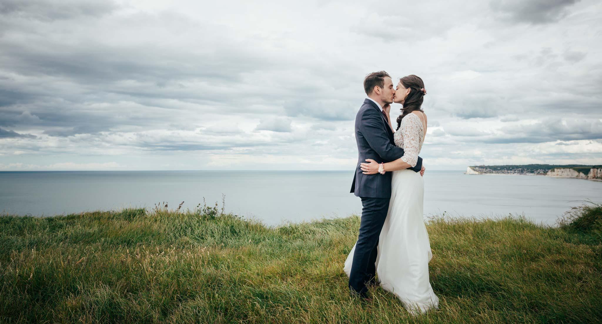 photographe mariage yport étretat normandie