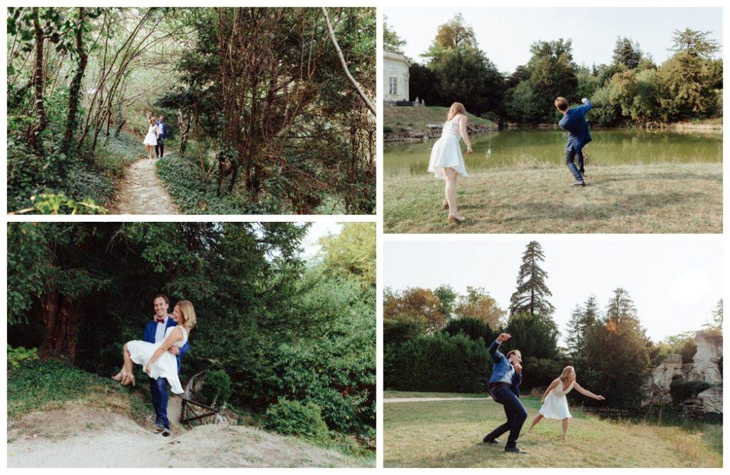 photographe mariage séance fiançailles engagement trianon château versailles